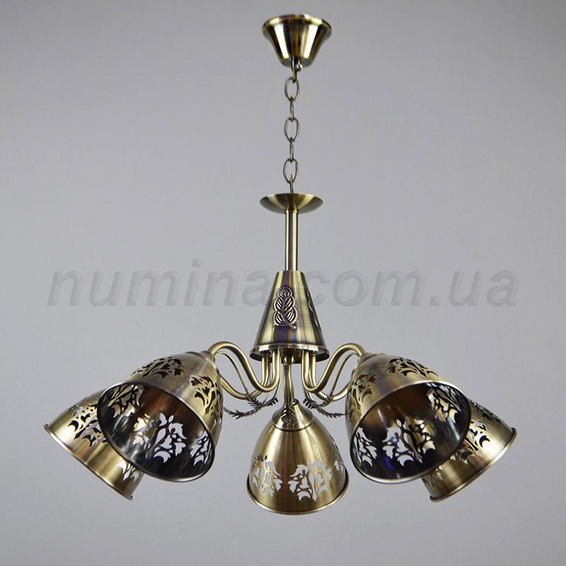 Люстра подвесная на пять ламп 3-N3060/5AB