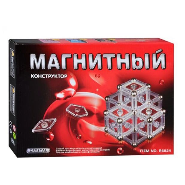 Дитячий магнітний конструктор crystal r6824