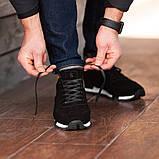 Мужские кроссовки South Flyxx black, классические замшевые кроссовки, мужские замшевые кеды , фото 3