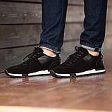 Мужские кроссовки South Flyxx black, классические замшевые кроссовки, мужские замшевые кеды , фото 5