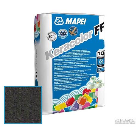 Затирка Mapei Keracolor FF 120/2кг черный, фото 2