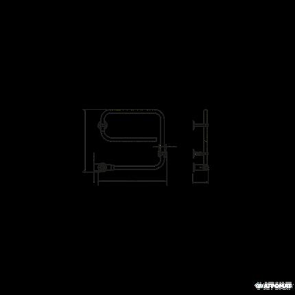 Полотенцесушитель Pax TR 3506-6 45 электрический, фото 2