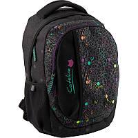Рюкзак Kite Education для девочек 550 г 40х30х17,5 см 21 л Черный