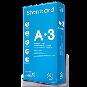 Клей для плитки Atis A-3 Standard, 25 кг