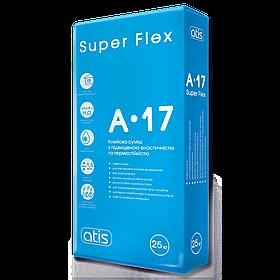 Клей для плитки Atis A-17 Super Flex элестичный, 25 кг