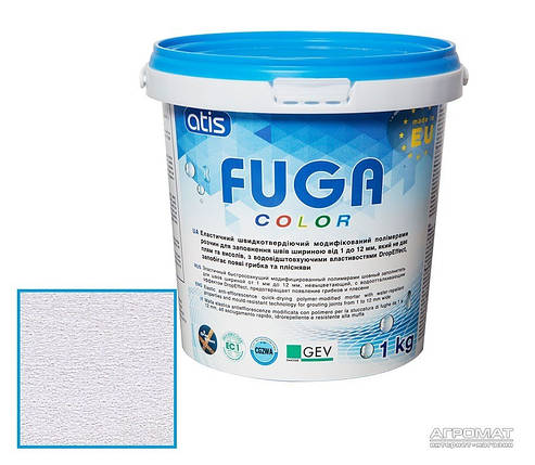 Затирка Atis Fuga Color A 109/1кг светло-серый, фото 2