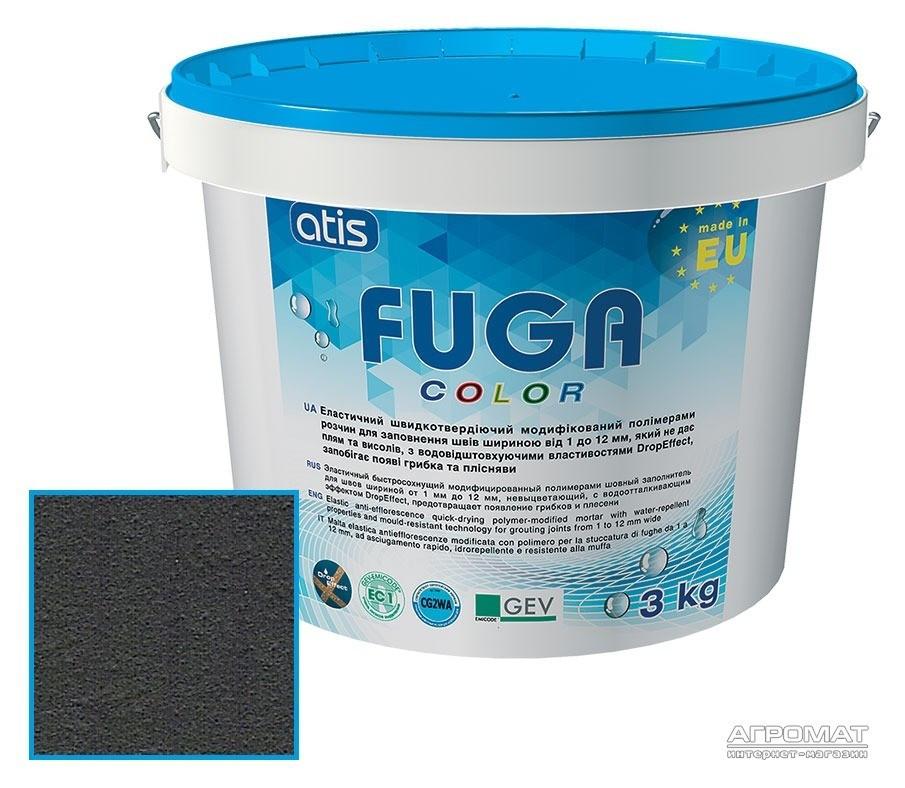 Затирка Atis Fuga Color A 120/3кг черный