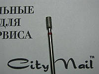 Фреза красная алмазная для маникюра - цилиндр