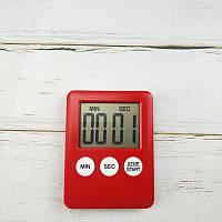 Таймер кухонный, цифровой, красный, № 1, фото 1