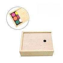 Пенал деревянный для гуаши Rosa Studio