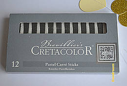 Графитовые палочки, 2В, (набор 12шт.), Cretacolor