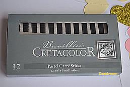 Палочки Неро масляные, 7х7мм. (набор 12шт.), Cretacolor