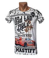 Красивая брендовая футболка Mastiff - №4972