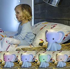 Детский ночник MyBaby Elephant от HoMedics, фото 3