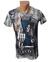 Мужская брендовая футболка Mastiff - №4979