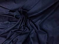 Замша стрейч Темно синий