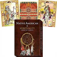 Карты Сакральный Оракул Американских Индейцев Native American Spirituality Oracle Cards Оригинал от LoScarabeo