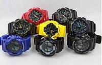 Часы Casio G-Shock GA100. Стильные наручные часы. 12 цветов. Интернет магазин часов. Код: КЧТ2