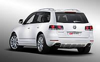 Тюнинг VW Touareg (03-09) накладка заднего бампера (CarBody)