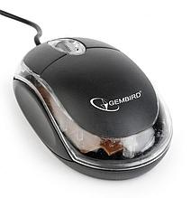 Мышь компьютерная Gembird MUS-U-01-BKT черный