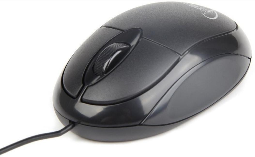 Мышь компьютерная Gembird MUS-U-01 Black черный