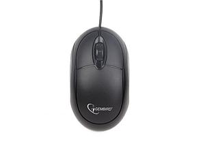 Мышь компьютерная Gembird MUS-U-01 Black черный, фото 2