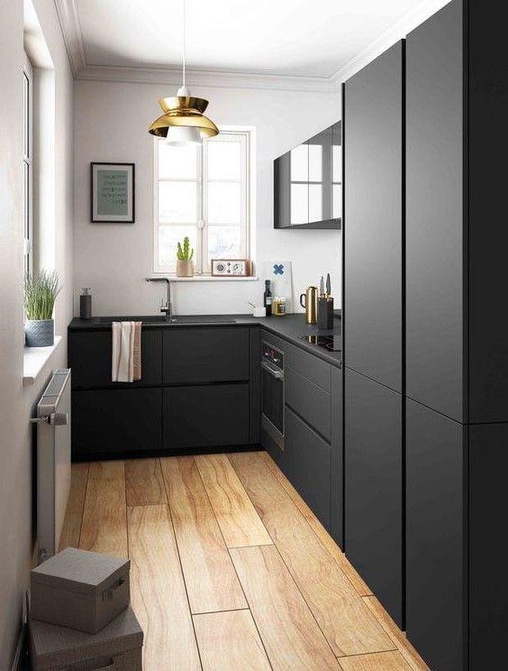 Кухня на заказ феникс черный. хит продаж 2020 года