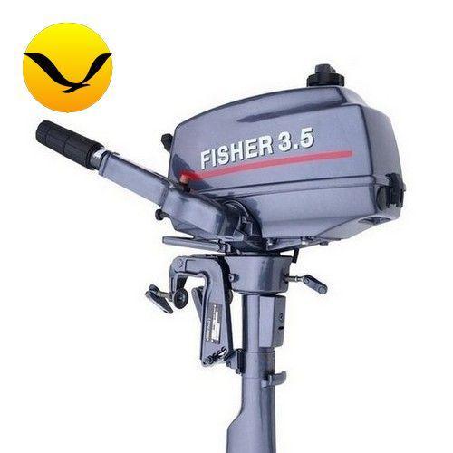 Лодочный мотор Fisher T3.5. 4-х тактный. 3,6л/с; (Мотор для лодки Фишер 3,5);