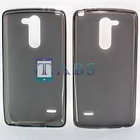 Чехол силиконовый TPU матовый LG G3 Stylus D690 Dual серый