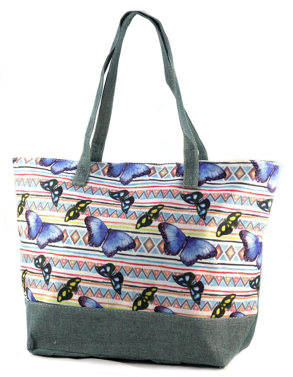 1d82fd0b52cd Летняя тканевая сумка с принтом 99-6-3 - Arion-store - кожгалантерея