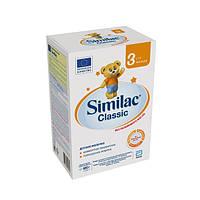 Молочная смесь Similac Classic 3 , 600 г ., 12 мес+  600г. (картонная упаковка) (5391523058964)