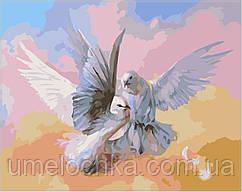 Набор для рисования Babylon Влюбленные голубки