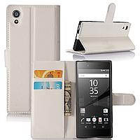 Чехол-книжка Litchie Wallet для Sony Xperia XA1 G3112 G3121 Белый