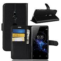 Чехол-книжка Litchie Wallet для Sony Xperia XZ3 H9436 Черный