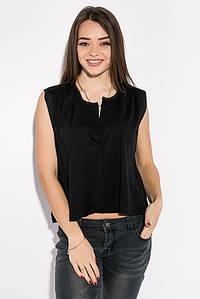 Блуза женская в стиле Casual 516F062 (Черный)