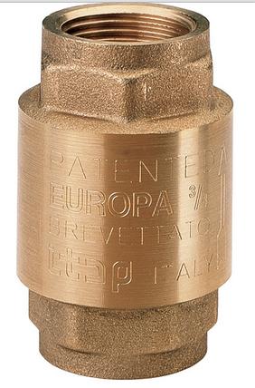 """Клапан обратного хода воды 3/4"""" EUROPA 100 ITAP Италия, фото 2"""