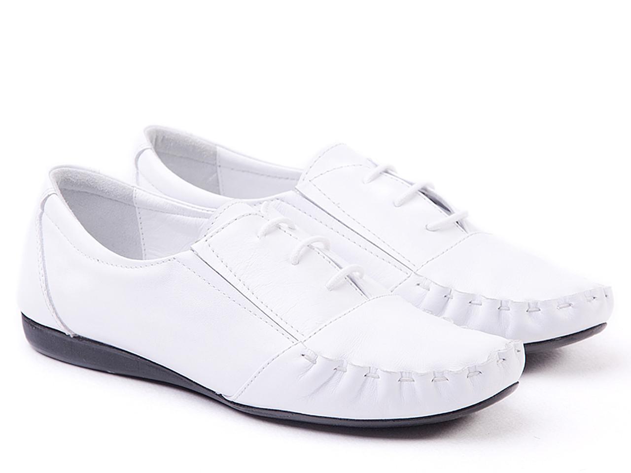 Мокасини Etor 2806-3010  білий