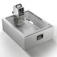 Гастроемкость для аппарата Softcooker Sirman S/s container GN 2/1 w/lid & Комплектующие и аксессуары Sous-vide аппараты и водяные печи & Гастроемкость