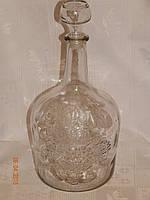 Бутылка для вина 3 л со стеклянной крышкой