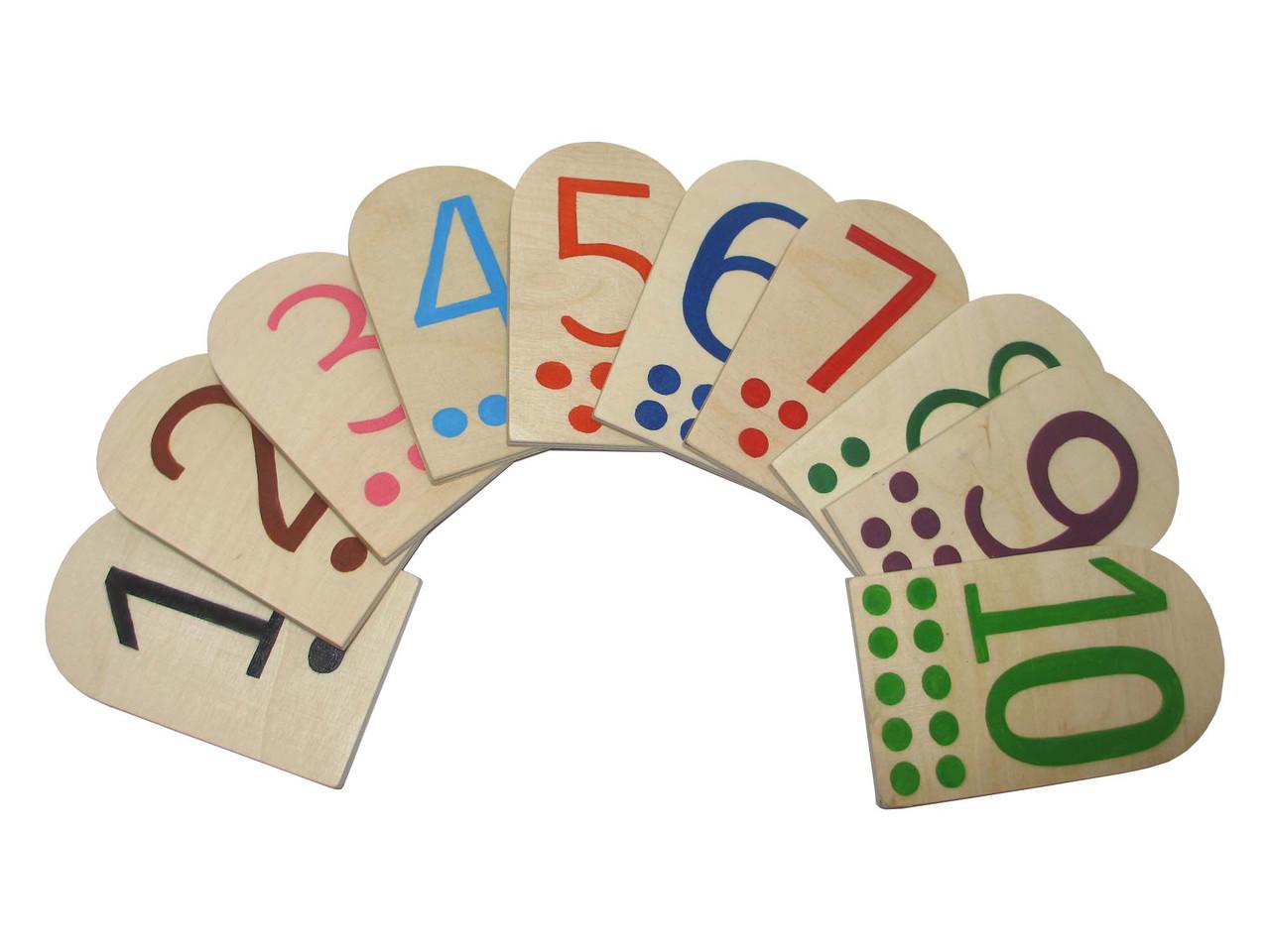 Набір дидактичного матеріалу HEGA  Цифри . Демонстраційні