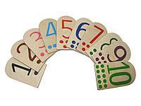Набір дидактичного матеріалу HEGA  Цифри . Демонстраційні, фото 1
