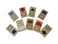 Набір дидактичного матеріалу HEGA  Геометричні фігури. Роздаткові, фото 1