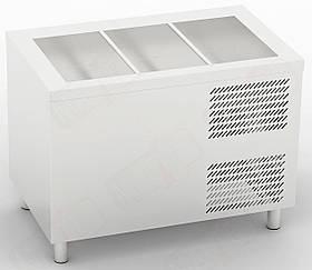 Охлаждаемый прилавок CD-5G/N1/1 Orest & Линия раздачи Orest