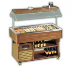 Салат-бар ISOLA 6M TECFRIGO холодильный