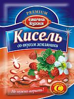 Кисель со вкусом земляники ТМ Смачна кухня, 90 г
