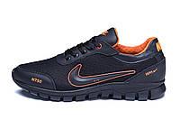 Мужские летние кроссовки сетка  Ans orange Nike  (реплика), фото 1