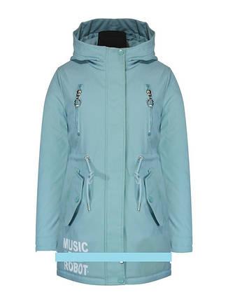 """Детская демисезонная куртка для девочки  """"TLN Kids"""" 015, размеры 134-158, фото 2"""