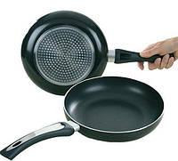 Тефлоновая антипригарная сковорода 26 см Bohmann BH 1000-26 с крышкой сковородка