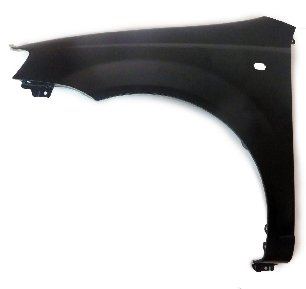 Крыло переднее левое  I-II черное Aveo / Авео 0160105311