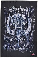 """Флаг Motorhead """"Kiss of Death"""""""